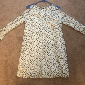 Old navy dress with 3/4 sleeves